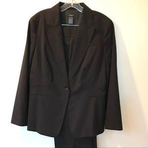 ANN TAYLOR Black Fully lined Jacket/Pants 12